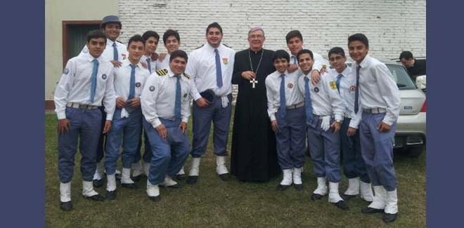 Exploradores de Don Bosco en acción