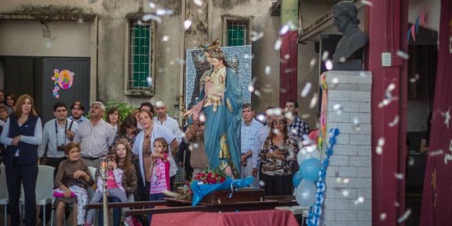 24 DE MAYO PROCESIÓN Y MISA DE MADRE MARÍA AUXILIADORA