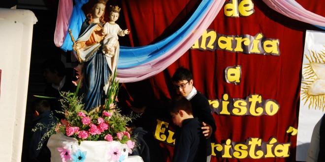 Festejamos a la Patria y a nuestra Madre Auxiliadora