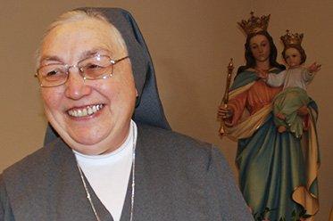 Bienvenida Madre Yvonee, peregrina de la Alegría y de la Esperanza