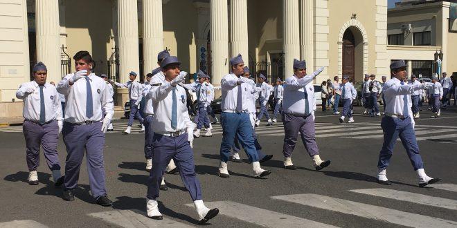 Festejo de los 100 años del Batallón 8