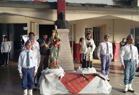 Don Bosco y María Auxiliadora para nuestro Batallón 8