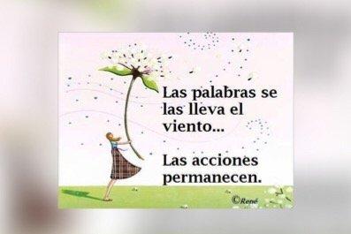 LAS ACCIONES Y LOS HECHOS
