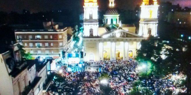 Mas de 40.000 tucumanos honraron a María, y dijeron SI a la vida