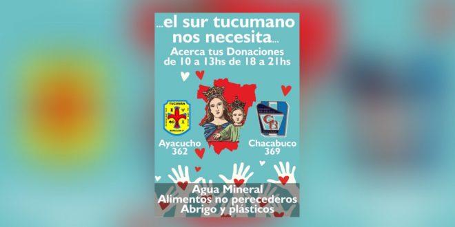 Campaña Solidaria por lo inundados
