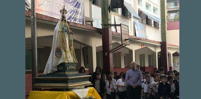 Visita de la Virgen de la Merced