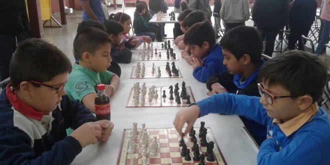 Gran final del torneo intercolegial de Ajedrez