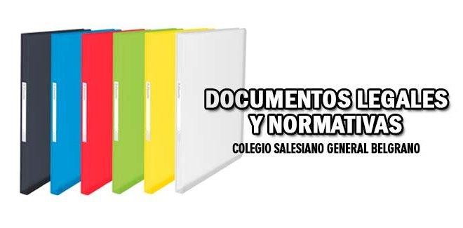 Documentos Legales y Normativas