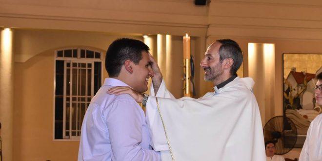 Profesión Perpetua Salesiana del Hno. Javier Abregú
