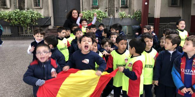 El Belgrano jugó su Mundial