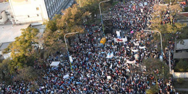 150 mil personas marcharon en Contra de la legalización del Aborto