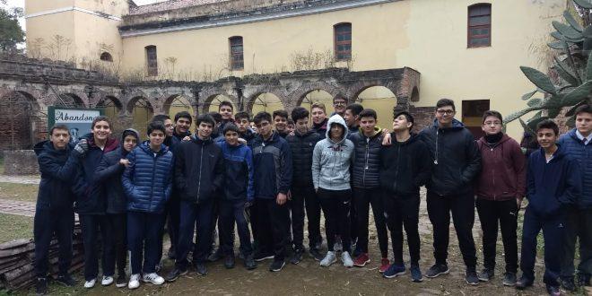 Visita de 3° año A y B a las ruinas de la ex Reducción Jesuítica de Lules