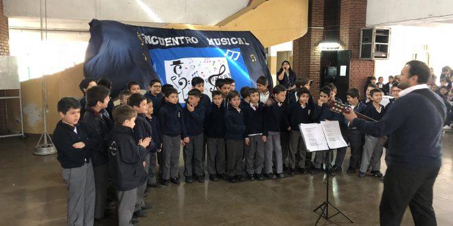Alumnos de tercer grado participaron de un Encuentro Musical Zonal