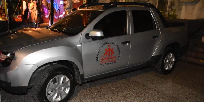 Nueva Camioneta para la Obra Salesiana General Belgrano