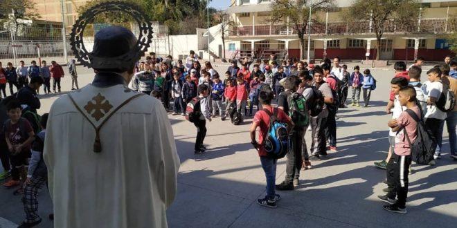 El Batallón 8 y inauguró el Mes del Don Bosco